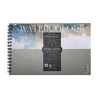 Альбом для акварели на спирали Watercolor 13.5х21см, 300г / м2, 12л, торшон, Fabriano