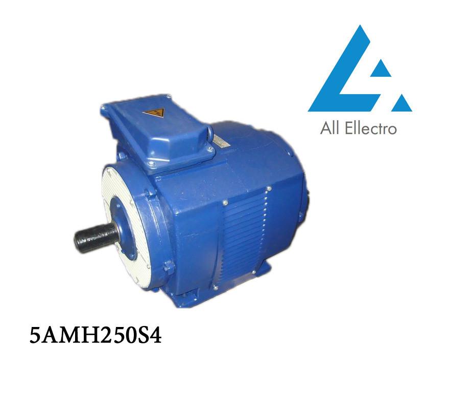 Электродвигатель 5АМН250S4 90 кВт/1500 об/мин. 380 В