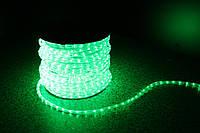 Уличный светодиодная лента Lumion Led Duralight 2-х жильная 240V. d=10мм. 2.77см 36диодов/м.100м/Цвет зеленый