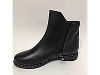 Кожаные ботинки на байке-Украина, фото 1