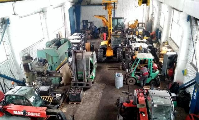 Ремонт спецтехники от Baltic Forklift, фото