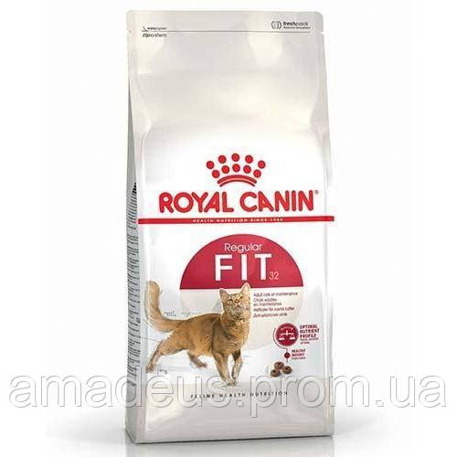 Сухой Корм Royal Canin Fit Для Взрослых Кошек От 1 Года Бывающих На Улице, 400 Г