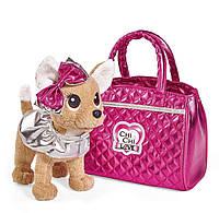 Собачка Chi Chi Love - Чихуахуа Фешн. Модный гламур (с сумочкой) 20см, Simba 5+ (5893125)