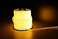 Уличный светодиодная лента Lumion Led Duralight 2-х жил. 240V. d=10мм. 2.77см 36диод/м.100м/Цвет теплый белый