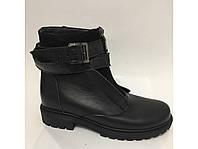 Зимние кожаные ботинки- Украина