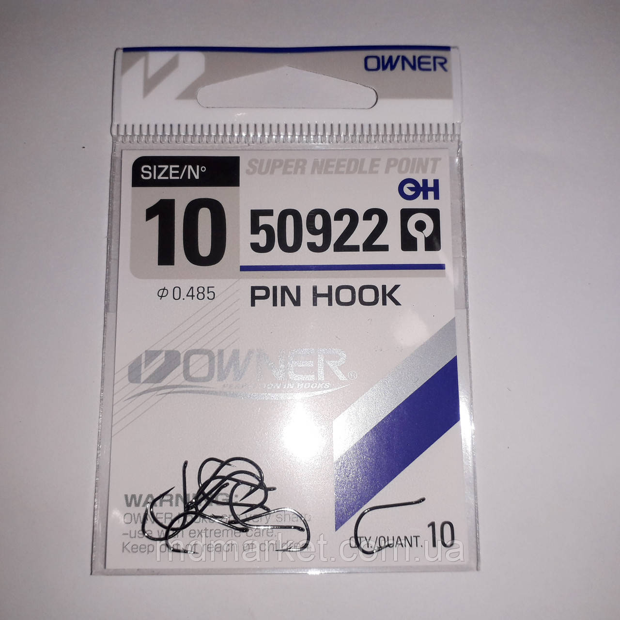 Гачки Owner Pin Hook 50922 №10