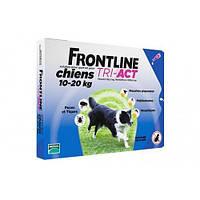 Капли Boehringer Ingelheim Frontline Tri-Akt От Блох И Клещей Для Собак, M (10-20 Кг) (1 Пипетка)