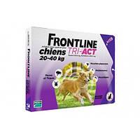 Капли Boehringer Ingelheim Frontline Tri-Akt От Блох И Клещей Для Собак, L (20-40 Кг) (1 Пипетка)