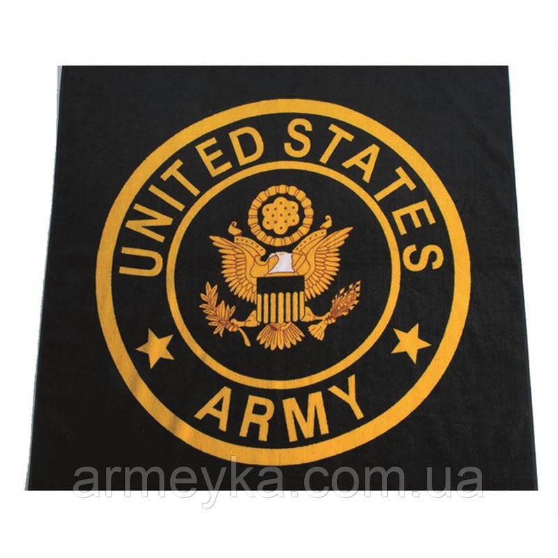 Армейское полотенце US Army 150*75 cm., 100% Cotton. НОВОЕ. Mil-tec, Германия.