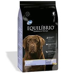 Сухой суперпремиум низкокалорийный корм Equilibrio Dog  корм для собак средних и крупных пород 15