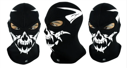 Балаклава с черепом Rough Radical Scull S6 (original), маска, подшлемник