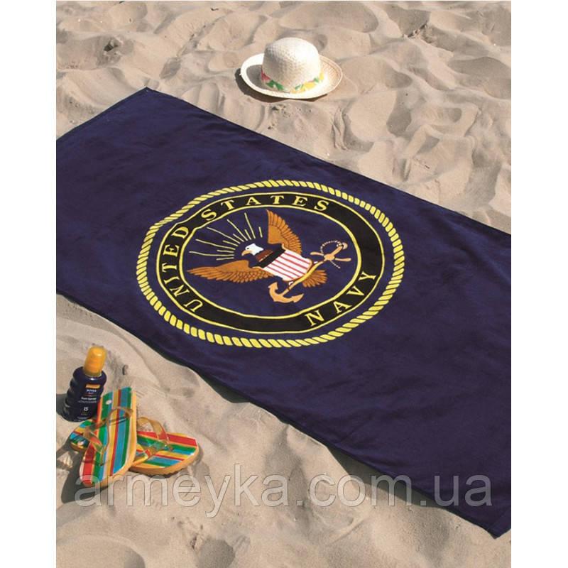 Армейское полотенце US Navy 150*75 cm., 100% Cotton. НОВОЕ. Mil-tec, Германия.