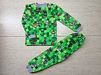 Пижама для мальчика Майнкрафт  (велсофт)