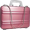 Женский розовый алюминиевый кейс EXPRESSIONS Zero Halliburton SLA-PINK