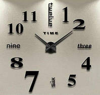 """Часы настенные 3D наклейки """"DIY"""" от 60 до 90 см (ZH520-B)"""