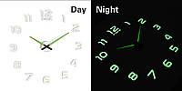 """Часы настенные 3D """"DIY"""" средние светящиеся от 60 до 120 см  (ZH214-B)"""