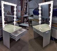 Стол для визажиста и бюти -- лампу кольцевой свет