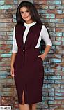 Стильное платье   (размеры 48-58) 0206-76, фото 2