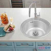 Кухонная мойка из нержавеющей стали Cosh 7104 Polish (COSH7104P08)