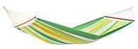Гамак 200x80 хлопок. Разноцветный мексиканский гамак. Amazonas Brasilia с поперечной планко, фото 1