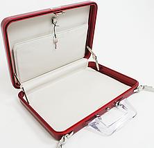 Оригинальный женский алюминиевый кейс EXPRESSIONS Zero Halliburton SLA-RD красный, фото 2