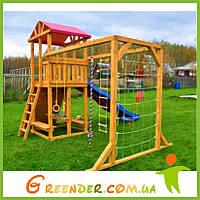 Деревянные детские уличные площадки «Игра» игровые комплексы