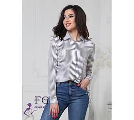 """Женская блузка в полоску """"Felicity"""" #A/S"""