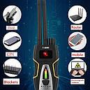 ChrishuangT8000 Многофункциональный  детектор обнаружения подслушивающих устройств(жучков), фото 4