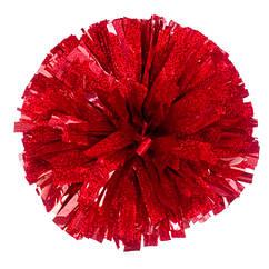 Помпон черлидера Pom Poms 1шт (красный) 15х9см
