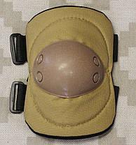 Тактическая защита наколенники + налокотники Classic Coyote, фото 3