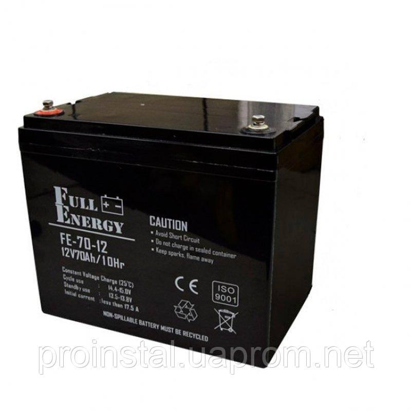 Аккумулятор AGM для ИБП Full Energy FEP-1270