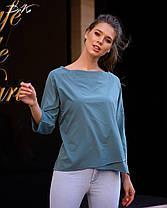 Интересная блуза прямого кроя, фото 2
