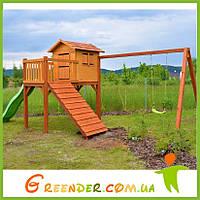 Деревянная детская площадка на улицу «Капитошка»