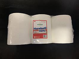 Паперові рулонні рушники, двошарова целюлоза. Висота 20,7 см довжина 150 м.