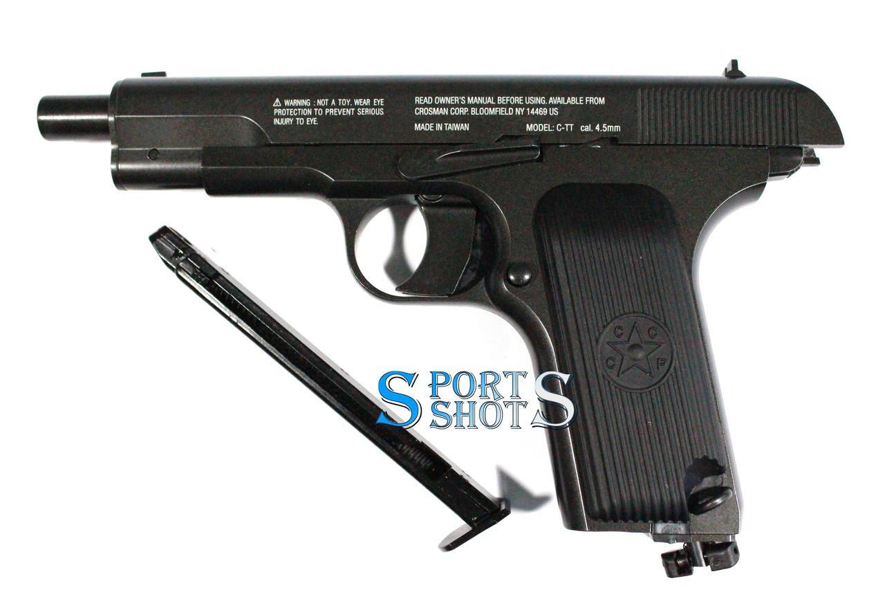 Пневматичний пістолет Crosman З-ТТ, фото 3