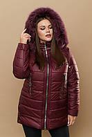 Удобная женская куртка для повседневного зимнего гардероба рр 48-66 Разные цвета