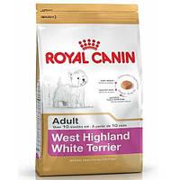 Сухой Корм Royal Canin West Highland White Terrier Adult Для Взрослых Собак Породы Вест-Хайленд-Уайт-Терьер Старше 10 Месяцев, 3 Кг