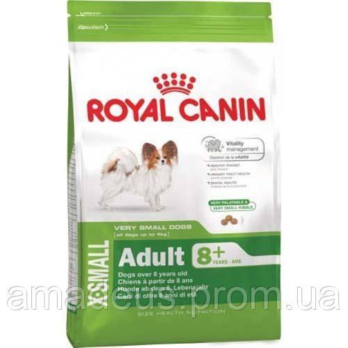 Сухой Корм Royal Canin X-Small Adult Для Собак Мелких Пород Весом До 4 Кг Старше 8 Лет, 500 Г