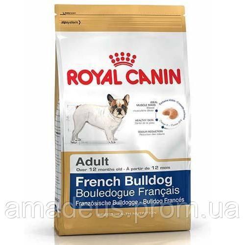 Сухой Корм Royal Canin French Bulldog Adult Для Взрослых Собак Породы Французский Бульдог Старше 12 Месяцев, 3 Кг