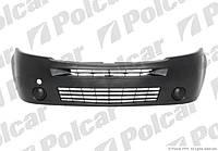 Бампер передн черн Renault Master, Opel Movano 08-10