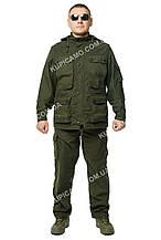 "Летний костюм-трансформер из мембранной ткани ""Атаман"" (Олива - хаки)"