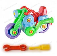 Игрушечный мотоцикл конструктор