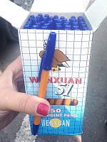 Ручка шариковая CORVINA (Winxuan) синяя 50шт