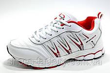 Белые женские кроссовки Bona, White\Red (Бона), фото 2
