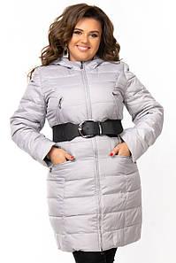 Куртка-плащ для женщины с поясом 46-52