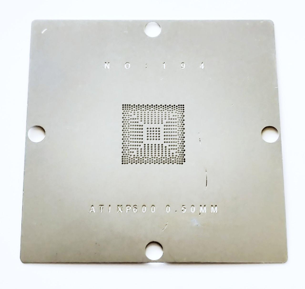Трафарет BGA ATI IXP600, SB600, XP600. Шар 0,5 мм