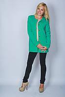 Жакет молодежный зеленый, фото 1