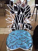 Кованый стул Птичка