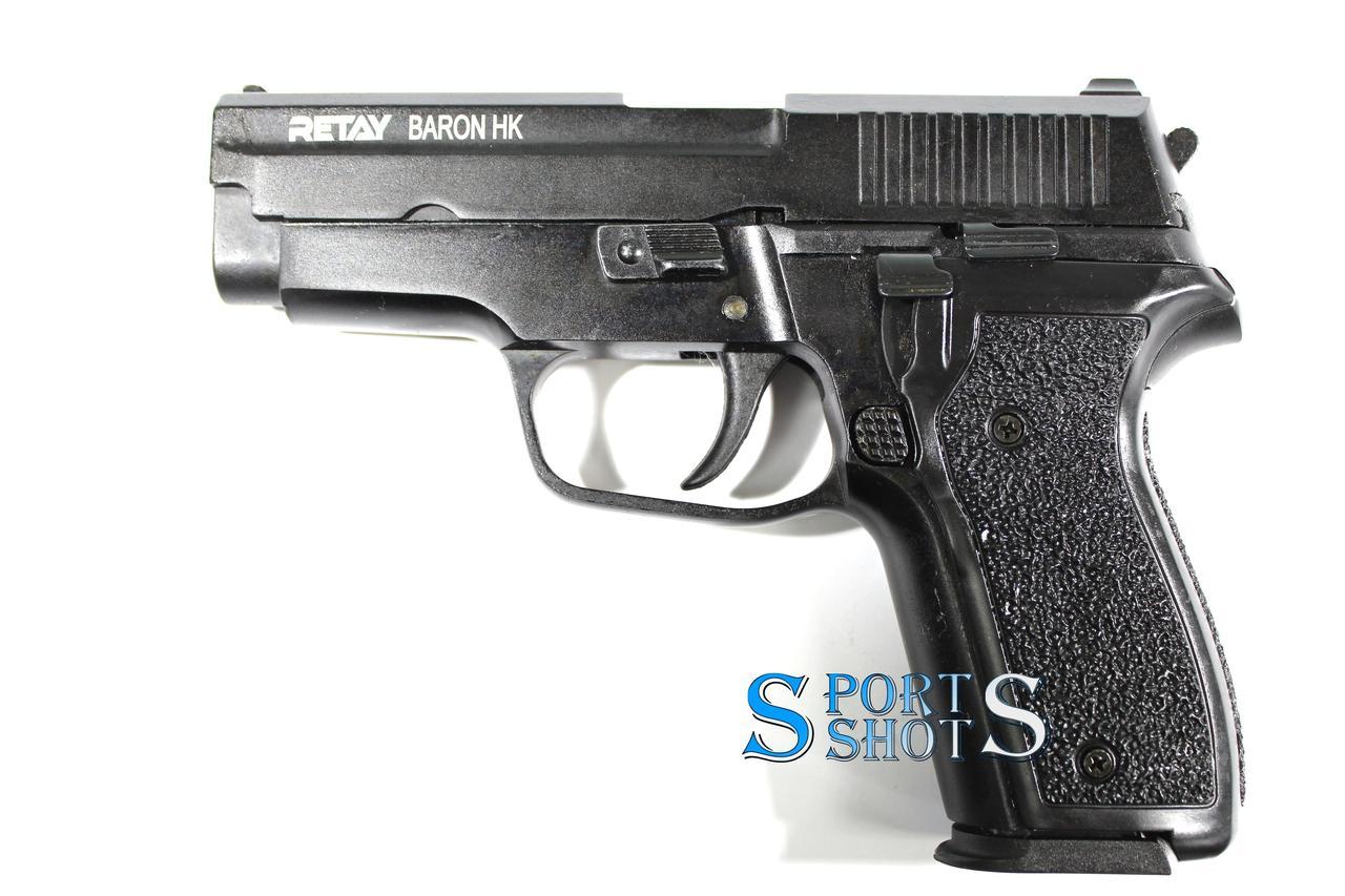 Стартовий пістолет Retay Baron HK black