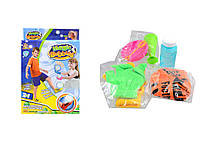 Набір для гри з мильними бульбашаки (футбол+рукавички 2в1) 25,5*17*5,5см. /96/ (1728B)